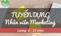 Tuyển nhân viên marketing – CTTNHH Thương Mại Dịch Vụ & Đầu Tư Land Việt