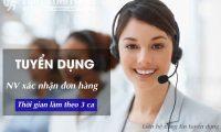 Tuyển cộng tác viên trực fanpage – Công ty bán hàng online
