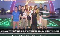 Tuyển nhân viên telesales – Công ty thương hiệu Việt